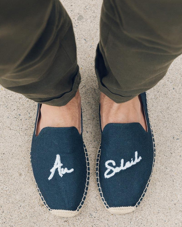 Men's Au Soleil Smoking Slipper image