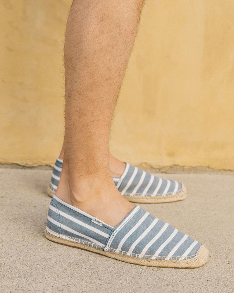 Mens Original Classic Stripe light-navy-white