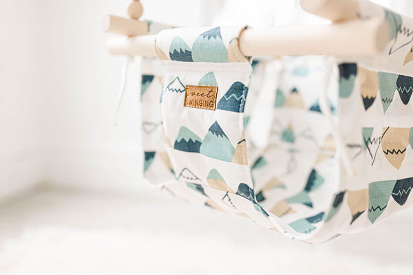 Mountain Fabric Baby Swing