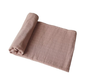 Muslin Swaddle Blanket Organic Cotton [natural]