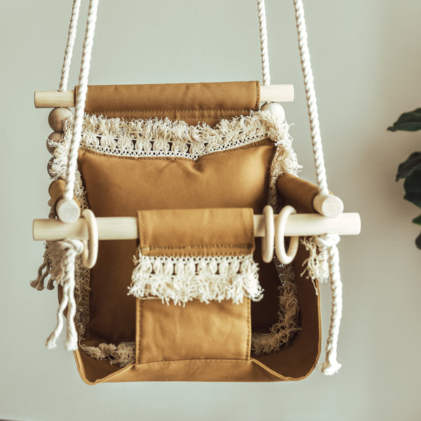 Boho Nutmeg Swing
