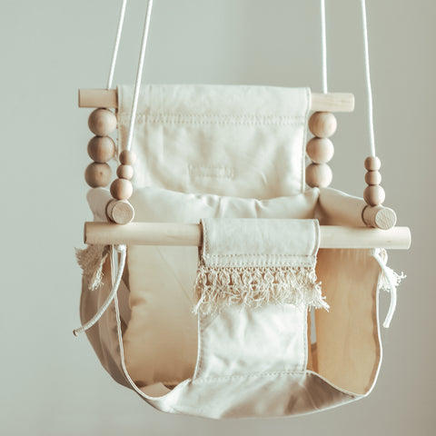 PRE ORDER High Back Boho Beige Swing