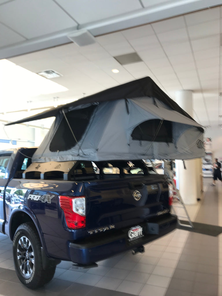 Low Style Rtt Universal Truck Bed Rack Hutch Tents