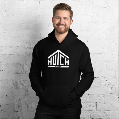 Men's Black Hooded Sweatshirt