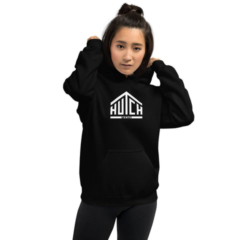Women's Black Hooded Sweatshirt