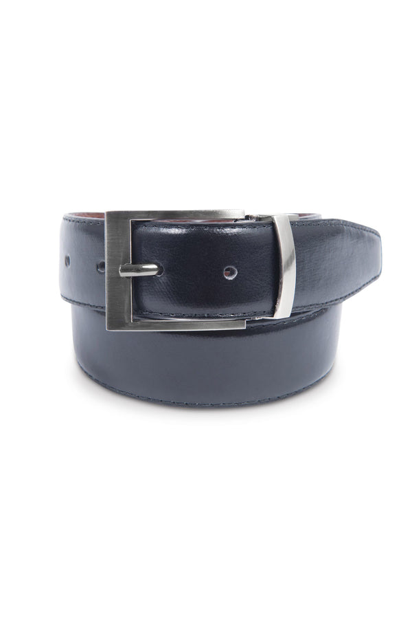 Black and Brown Reversible Belt (Black)