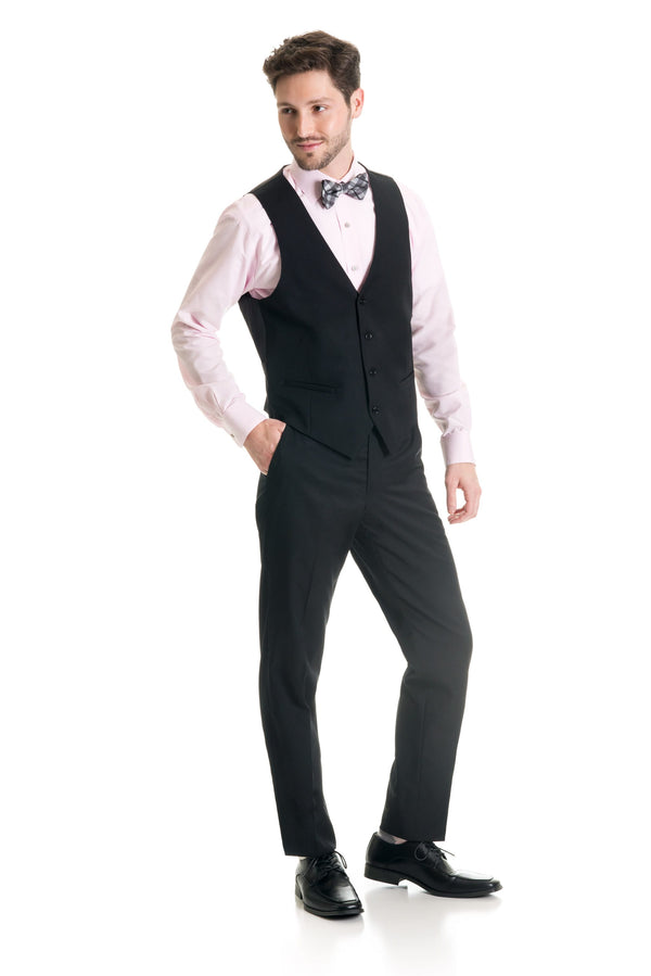 Black Suit Separates Vest