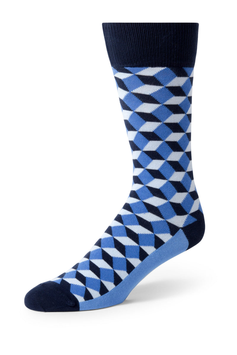 Blue Beeline Men's Dress Socks