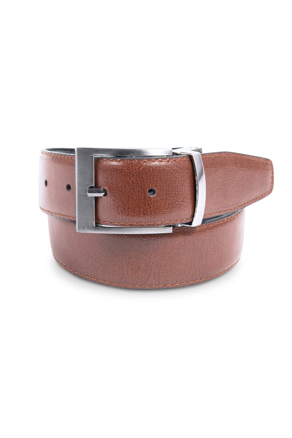 Black and Brown Reversible Belt (Brown)