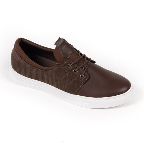Brown Dress Sneaker - Right