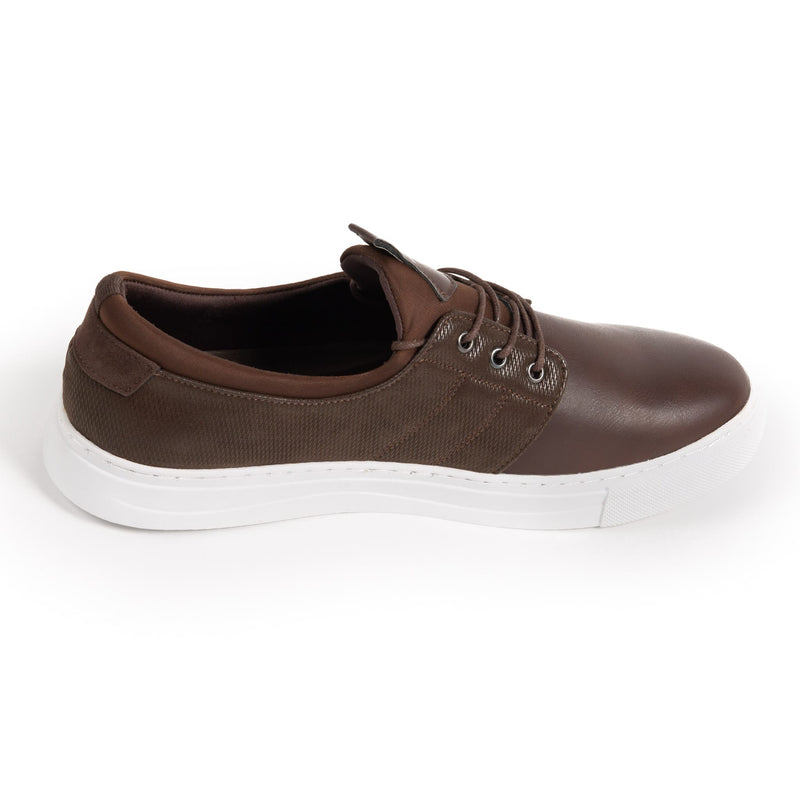 Brown Dress Sneaker - Left