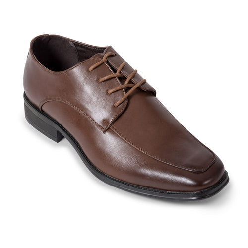Brown Moc Toe Derby Shoe