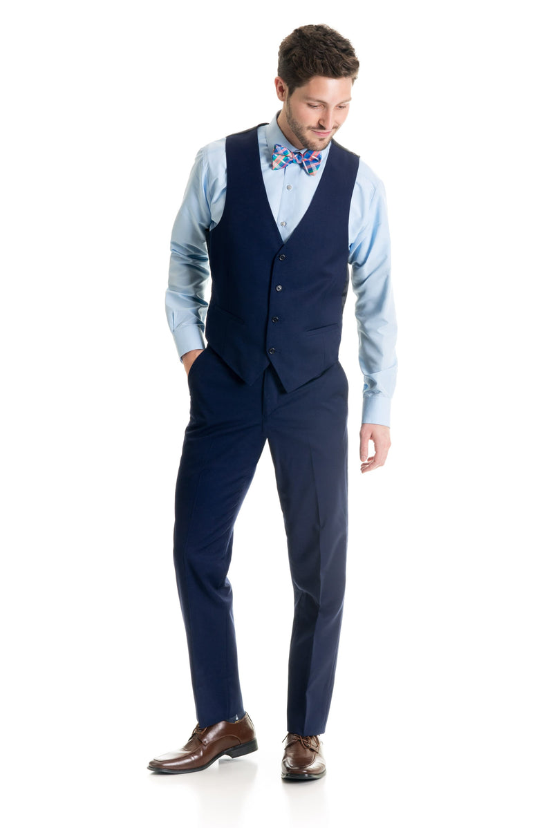 Dark Indigo Suit Separates Vest - Super 120's