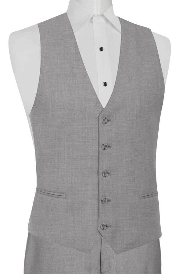 Heather Grey Clayton Suit Separates Vest