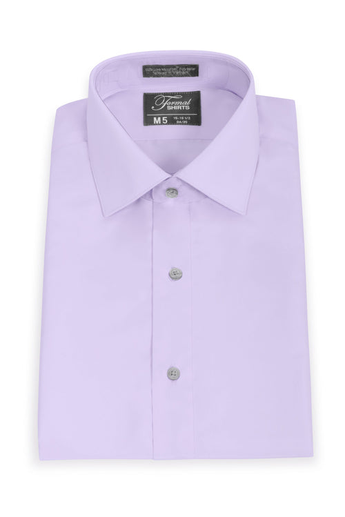 Lavender Men's Big & Tall Microfiber Dress Shirt