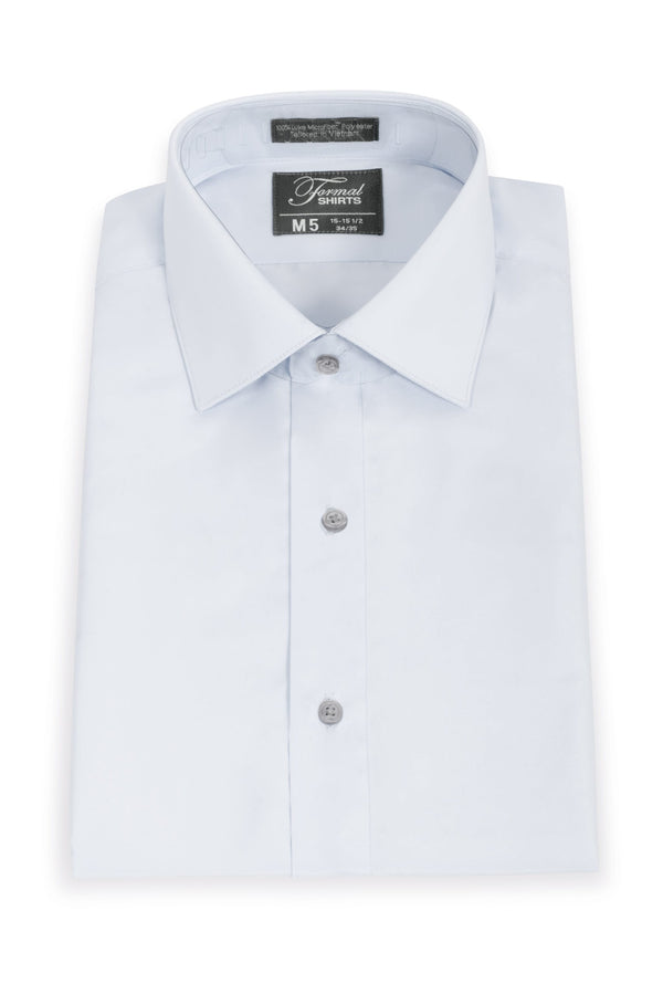 Light Grey Men's Big & Tall Microfiber Shirt