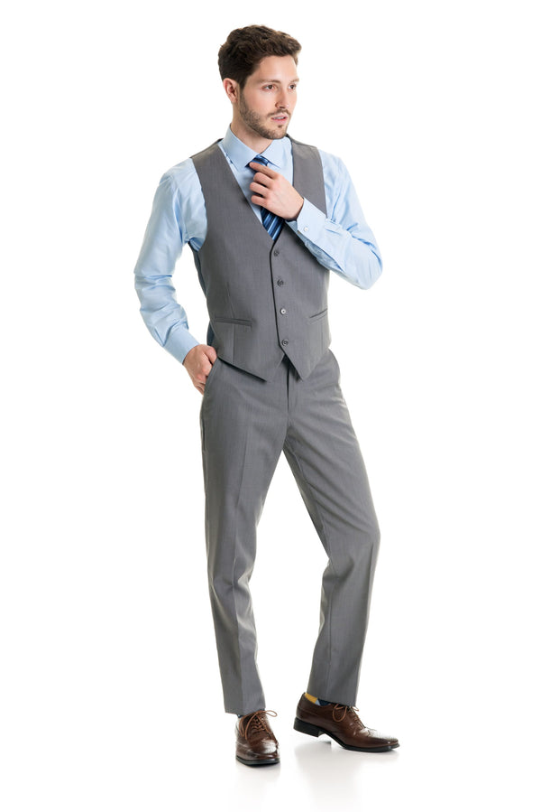 Light Grey Suit Separates Vest