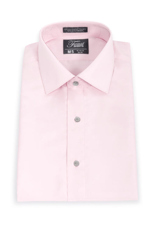Light Pink Men's Big & Tall Microfiber Dress Shirt