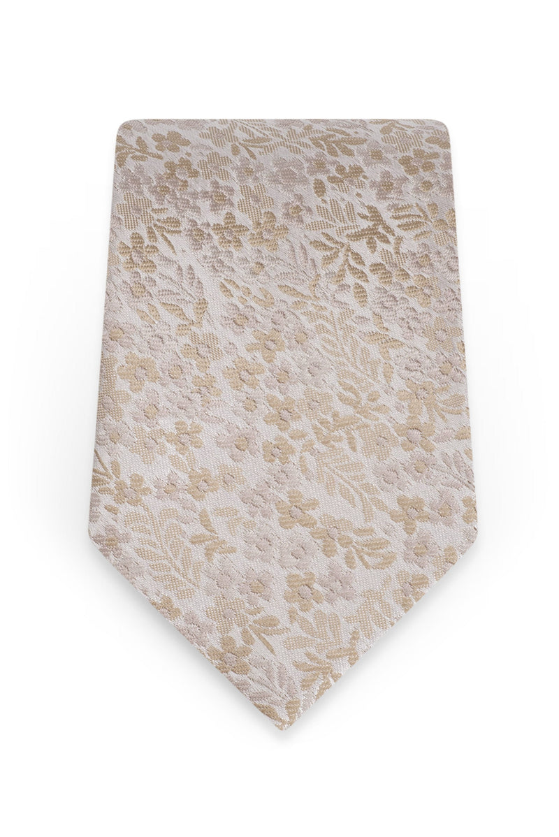 Floral Biscotti Self-Tie Windsor Tie - Detail