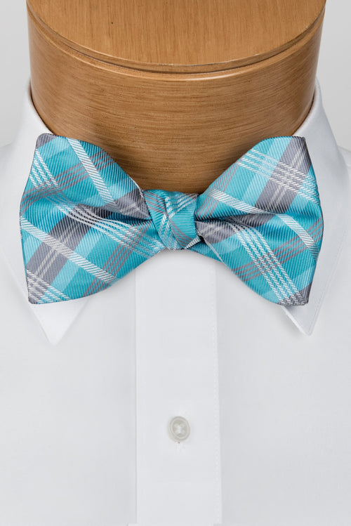 Plaid Multi-Color Malibu Bow Tie
