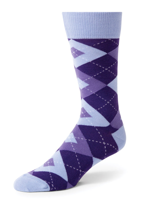 Regency Argyle Men's Dress Socks