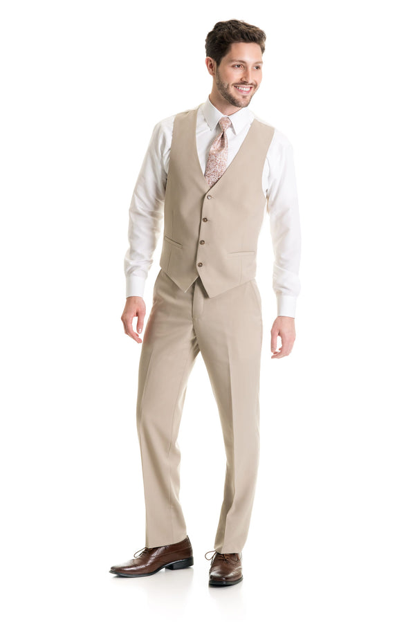 Tan Suit Separates Vest