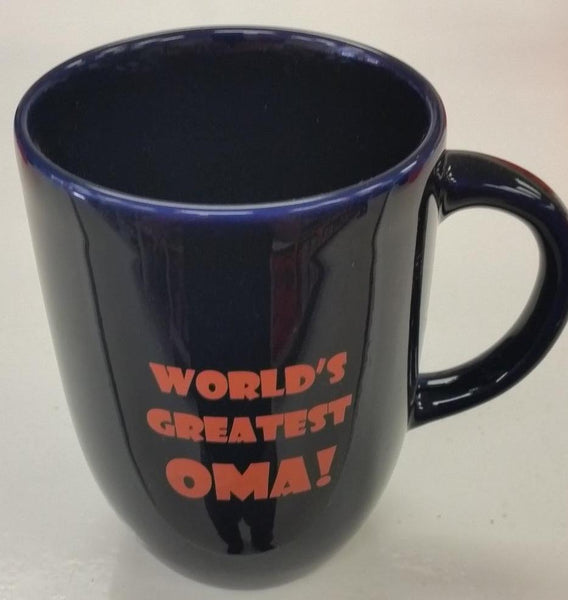 World's Greatest Oma Mug 12oz