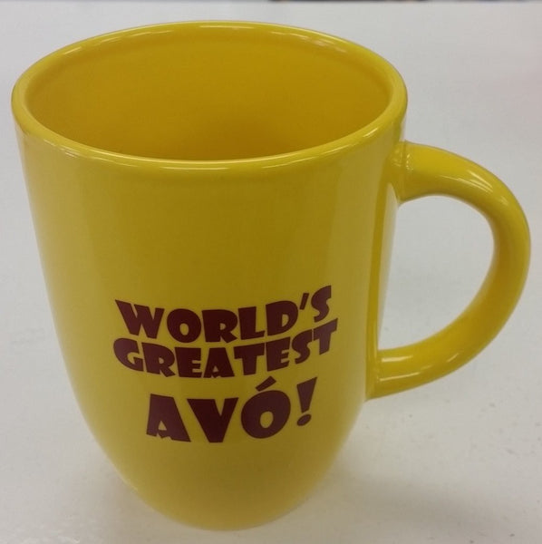 World's Greatest Avó Yellow 12oz