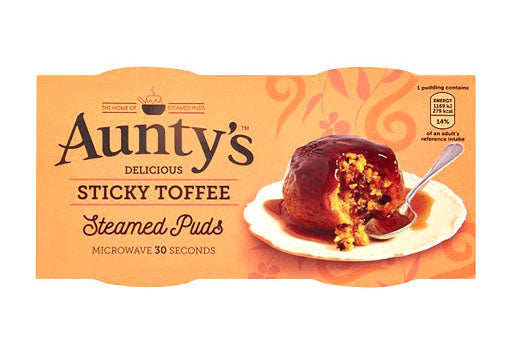 Aunty's Delicious Sticky Pudding 2x95gr