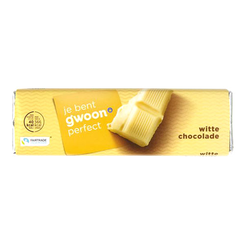 Gwoon Chocolate Bar White 100g
