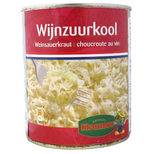 Krautboy Wine Sauerkraut 500ml