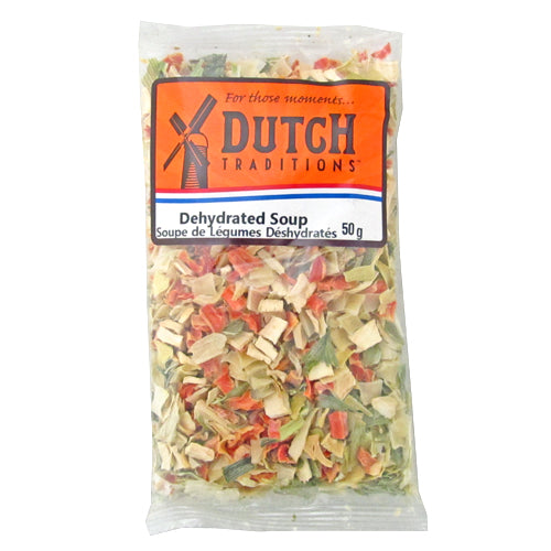 Dutch Traditions Dried Soup Vegetables 50G