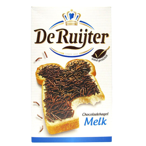 DeRuijter Milk Chocolate Hail 380g