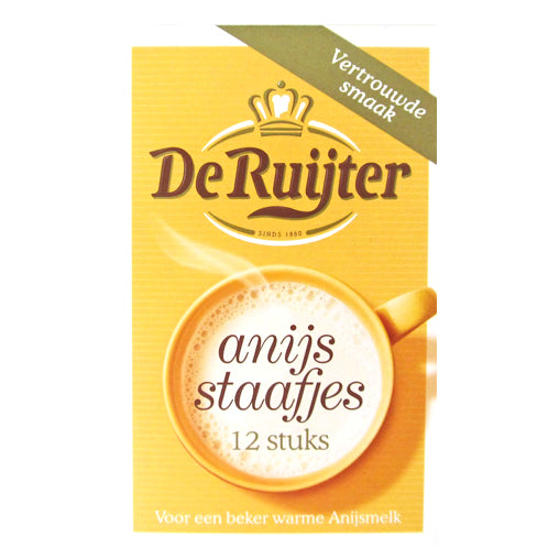 DeRuijter Anise Sticks 12pc