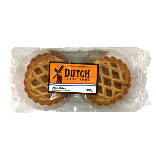 Dutch Traditions Apple Cakes 300g