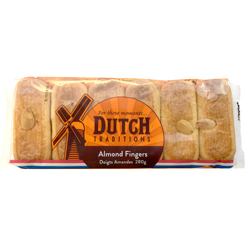Dutch Traditions Kanos Almond Fingers