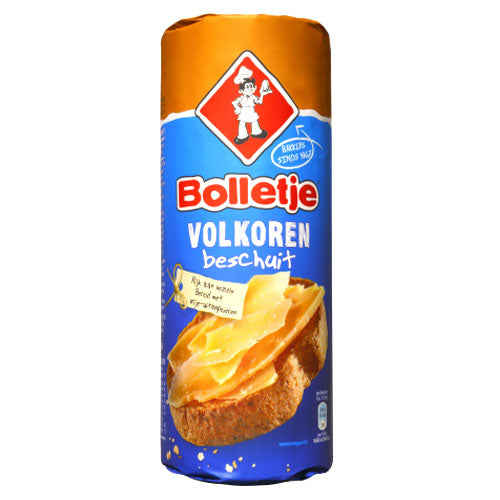 Bolletje Rusk Whole Wheat 125g