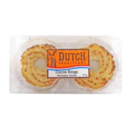 Dutch Traditions Coconut Rings 180g