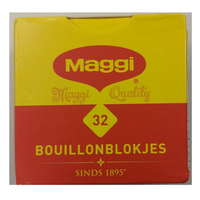Maggi Boullion Cubes 32pc 128g
