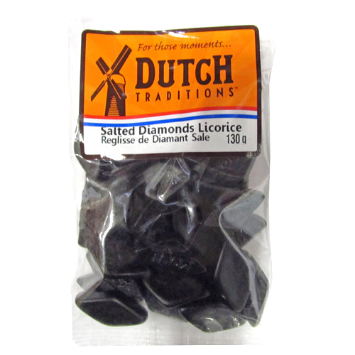 Dutch Traditions Salted Diamonds 130g