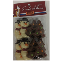 DT Chocolate Snowmen and Trees 120g