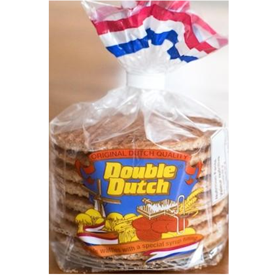 Double Dutch Syrup Wafers 252g
