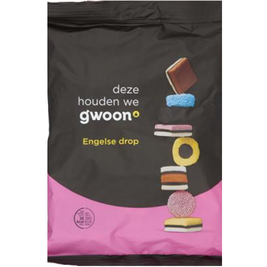 Gwoon English Licorice Allsorts 400g