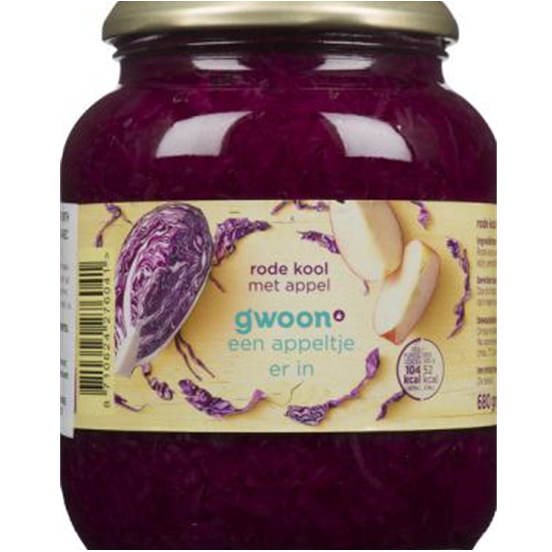 Gwoon Red Cabbage with Apple 720g