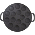 Poffertjes Pan Cast Iron