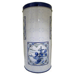 Delft Blue Rusk Tin