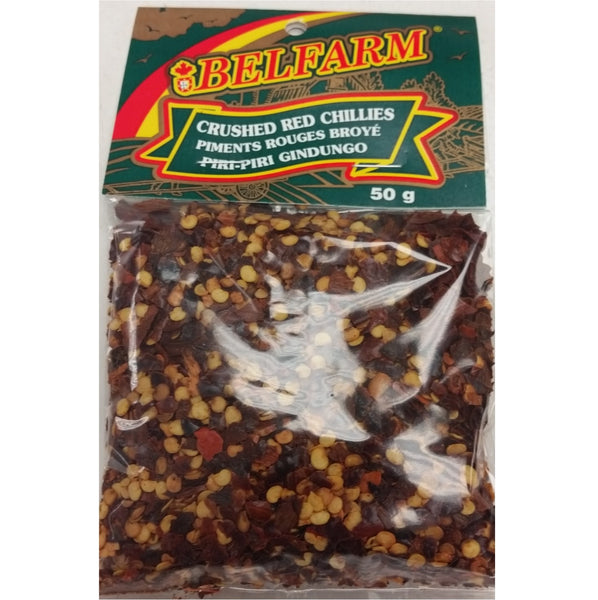 Belfarm Crushed Red Chillies 50g