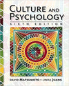 Culture and Psychology 6th Edition by David Matsumoto, ISBN-13: 978-1305648951