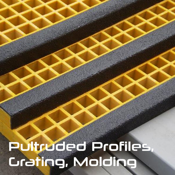 Pultruded Profiles, Grating & Moldings