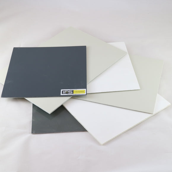 GRP flat sheet - 2.5mm thick 2.2m wide